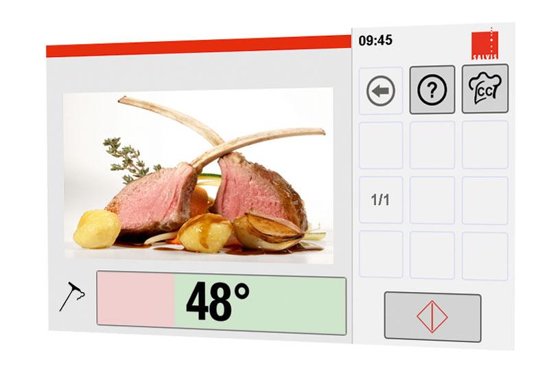 Combi-Steamer Salvis CucinaEVO Commande Pro