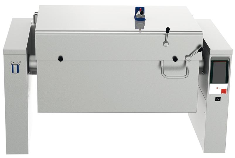 Druckgarbraisière Salvis-Crystal Pro